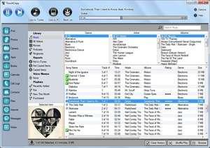 TouchCopy Screenshot