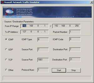 TrafficEmulator Screenshot
