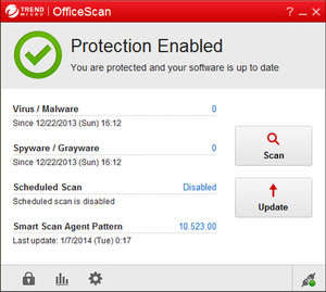 Trend Micro OfficeScan Screenshot