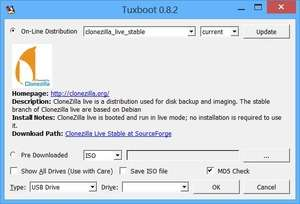 Tuxboot Screenshot