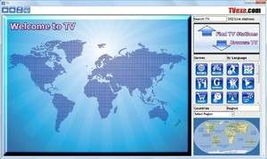 Internet TV Players - Screenshot for TV