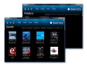 Media Server - Screenshot for TVersity