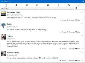 Tweetz Desktop Screenshot