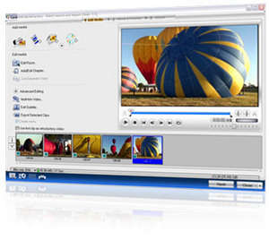 Ulead DVD MovieFactory Screenshot