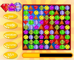Puzzle Games - Screenshot for Ultimate Jewel