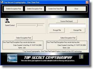 Unbreakable Encryption Software Screenshot