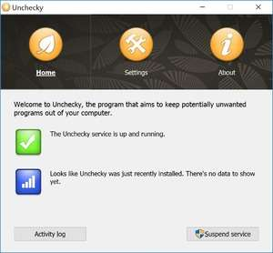 Spyware Removal - Screenshot for Unchecky