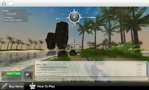 Unity Web Player Screenshot
