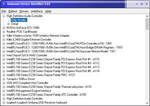 Drivers - Screenshot for Unknown Device Identifier