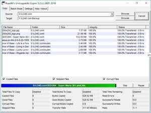 File Recovery Programs - Screenshot for Unstoppable Copier