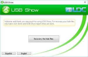 File Organizers - Screenshot for USB Show