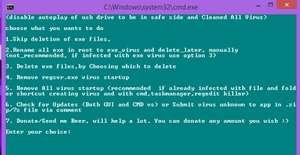 Antivirus Software - Screenshot for USB Virus Remover