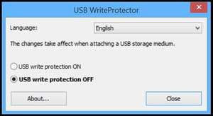 Harddrive Tools - Screenshot for USB WriteProtector