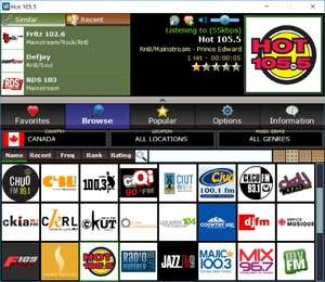 V-Radio Screenshot