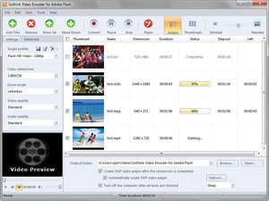 Video Encoder for Adobe Flash Screenshot