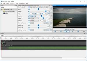 Audio Video Editing - Screenshot for Vidiot