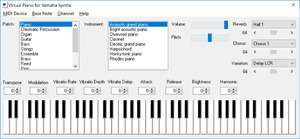Virtual Piano Screenshot