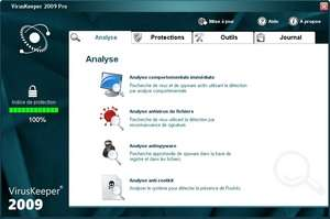 VirusKeeper 2011 Screenshot