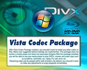 Vista Codec Pack Screenshot