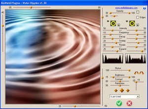Water Ripples plug-in Screenshot