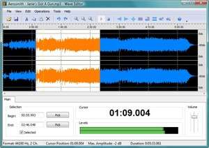 Audio Video Editing - Screenshot for Wave Editor