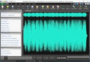 Audio Recorders - Screenshot for Wavepad Free