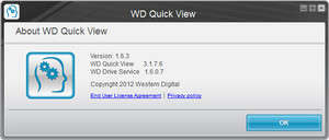 WD Quick View Screenshot