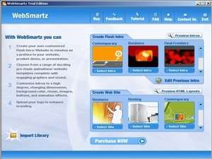 WebSmartz Screenshot