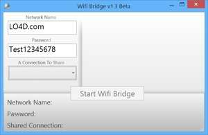 Wifi Bridge Screenshot