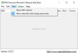 WiFi Password Revealer Screenshot