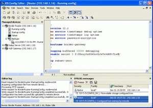 WinAgents IOS Config Editor Screenshot