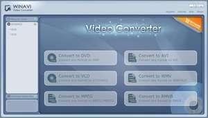 WinAVI Video Converter Screenshot