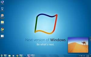 Windows 8 theme for Windows 7 Screenshot