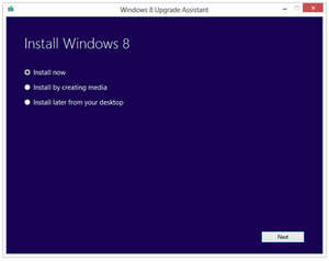 Additional Components - Screenshot for Windows 8 Upgrade Assistant