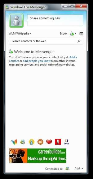Instant Messaging - Screenshot for Windows Live Messenger