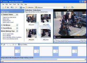 Movie Making Programs - Screenshot for Windows Movie Maker