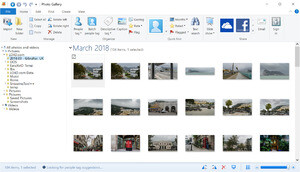 Windows Photo Gallery Screenshot
