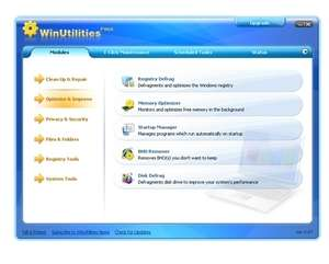 WinUtilities Free Screenshot