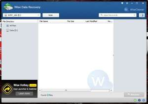 File Recovery Programs - Screenshot for Wise Data Recovery