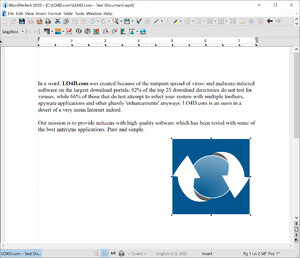 WordPerfect Office Screenshot