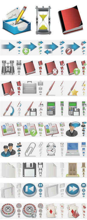 Iconsets - Screenshot for X-MAC 1500 MAC style application icons