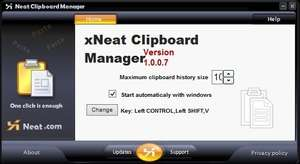Clipboard Replacement Programs - Screenshot for xNeat Clipboard Manager