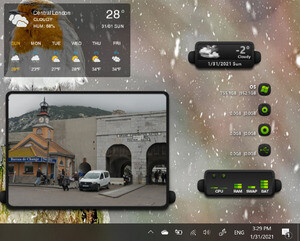 Widgets - Screenshot for XWidget
