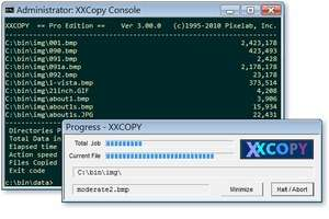 File Organizers - Screenshot for XXCOPY