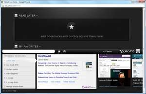 Firefox Addons - Screenshot for Yahoo Axis
