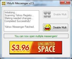 YMulti Messenger Screenshot