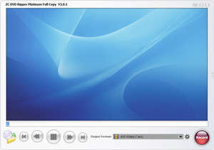 CD Rippers - Screenshot for ZC DVD Ripper Platinum