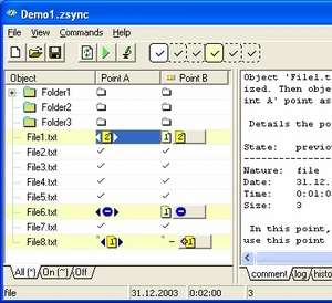 ZSKSoft Synchronizer Screenshot