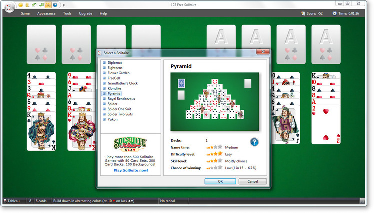 SOLITAIRE GAMES Online - Play the Best Free Games at
