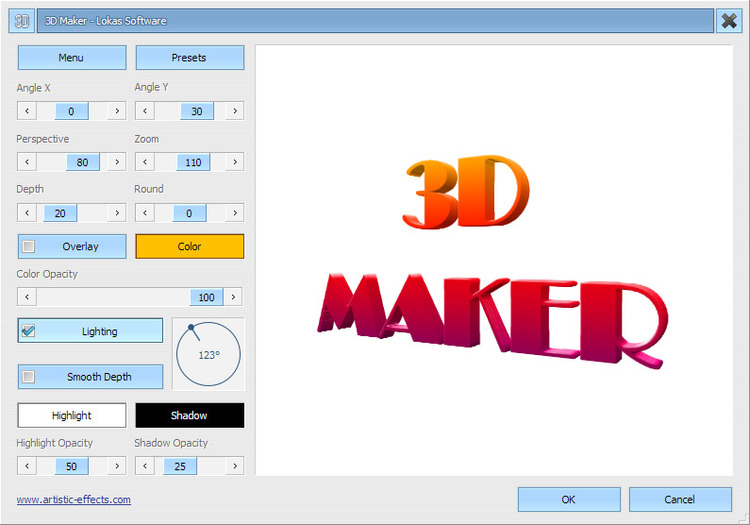 Download 3d Maker 1 2 3d Picture Maker
